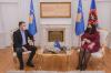 Presidentja Osmani priti në takim përfaqësues të Sindikatës së Infermierëve të Kosovës 2