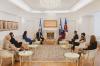 Presidentja Osmani priti në takim përfaqësues të Sindikatës së Infermierëve të Kosovës 1