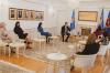Presidentja Osmani priti në takim përfaqësues të Sindikatës së Infermierëve të Kosovës