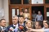 """Predsednik Thaçi glasao je na glasačkom mestu Osnovna škola """"Faik Konica"""" u Prištini"""