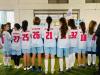 """Presidentja Osmani ka takuar klubin futbollistik të vajzave """"Prishtina"""""""