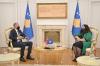 U.d. e Presidentes priti në takim Ambasdorin e Norvegjisë, z. Jens Erik Grøndahl