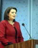 """President Atifete Jahjaga's speech at the Alumni Working Event organized by the George C Marshall Centre in Prishtina, on the subject of """"Fight against Corruption"""""""