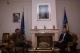 Presidenti Sejdiu priti Gjeneralin e KFOR-it Xavier De Marnhac, bashkë me Gjeneralin C.A. Giuzeppe E. Gay