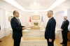 President Thaçi receives the credentials from the new Ambassador of Turkey