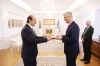 The President accepted the credentials of the first Ambassador of Jordan to Kosovo