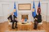 U.d. Presidentja Osmani priti në takim Ambasadorin e Zvicrës në Republikën e Kosovës, Thomas Kolly