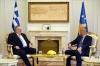Presidenti Thaçi dhe kryediplomati grek flasin për forcimin e marrëdhënieve bilaterale