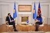 Presidentja Osmani priti në takim kryetarin e LDK-së, Lumir Abdixhiku