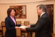 President Jahjaga received the Ambassador of Latvia to the Czech Republic, accredited to Kosovo on non-residential basis