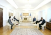 President Thaçi met the Head of EULEX, discussing about the measures to overcome the pandemic