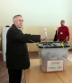 """U.D. i Presidentit të Republikës së Kosovës, dr. Jakup Krasniqi votoi në shkollën fillore """"Faik Konica"""" në Prishtinë"""