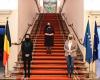 U.d. Presidentja Osmani mirëpritet në Parlamentin e Belgjikës nga Presidentja e Senatit, Stephanie D'Hose dhe Kryetarja e Dhomës së Përfaqësuesve, Éliane Tillieux