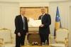 Presidenti Thaçi pranoi një letër urimi nga presidenti i SHBA-së, Donald Trump