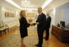 President Thaçi received the credentials from the new Ambassador of Finland