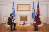 Presidentja Osmani priti në takim të ngarkuarin me punë të Japonisë në Kosovë, z. Ogasawara Mitsunori