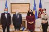 Presidentja Osmani priti në takim ish-Presidentët Sejdiu, Jahjaga dhe Pacolli