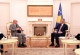 President Thaçi receives at a farewell meeting the Head of the EULEX, Gabriele Meucci
