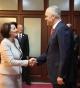 Presidentja Atifete Jahjaga priti Kryeministrin e mandatuar të Shqipërisë, Edi Rama