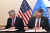 President Thaçi signed the 49 million dollar agreement with MCC