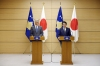 President Thaçi is received by the Japanese Prime Minister, Shinzo Abe