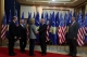 The Acting President of Kosovo Dr. Jakup Krasniqi receives the US Secretary of State