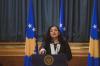 Deklaratë e Presidentes Osmani lidhur me aksionin e Policisë së Kosovës kundër krimit të organizuar