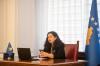 U.d. Presidentja flet me studentët e RIT Kosovo për mjedisin dhe energjinë
