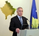The Acting President of the Republic of Kosovo Dr. Jakup Krasniqi Dr. Jakup Krasniqi holds a press conference
