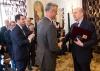 """Presidenti Thaçi dekoron ish-kryeministrin francez Alain Juppé me medaljen """"Urdhri i Lirisë"""""""