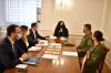 Presidentja Osmani takoi Ministrin e Mbrojtjes, Armend Mehaj dhe Komandantin e FSK-së, gjenerallejtënant Rrahman Rama