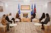 Presidentja Osmani priti në takim deputeten Vasfije Krasniqi dhe përfaqësueset e organizatave që avokojnë për drejtësi për të mbijetuarat e dhunës seksuale