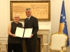 President Thaçi awarded the Presidential Jubilee Medal to Anthropologist Berit Backer