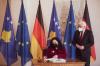 Presidentja Osmani takoi presidentin e Gjermanisë, z. Frank-Walter Steinmeier