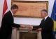 The Acting President of Kosovo Jakup Krasniqi receives Netherlands' Ambassador to Kosovo
