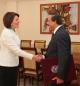 Presidentja Jahjaga priti ambasadorin jorezident të Shtetit të Katarit