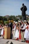 """Predsednik Thaçi učestvovao je na """"Gjeçovi-evim sastancima""""  u Zjumu kod Prizrena"""