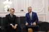 President Macron congratulates President Thaçi on the 12th anniversary of the independence