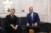 Presidenti Macron uron Presidentin Thaçi për 12 vjetorin e pavarësisë