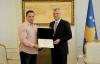 Presidenti Thaçi i ndau Medaljen Presidenciale të Meritave, Driton Kukës