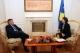 President Jahjaga received the Head of EULEX, Xavier de Marnhac