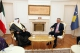 President Thaçi received the credentials from the new Ambassador of the Kuwait