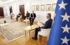 Presidenti flet me ambasadorët e Kuintit dhe atë të BE-së për zhvillimet në Kosovë
