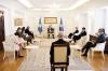 Predsednik razgovarao sa ambasadorima Kvinte i ambasadorkom EU o događanjima na Kosovu