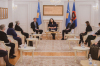 Komunikatë e përbashkët e Presidentes, Kryetarit të Kuvendit dhe e Kryeministrit të Kosovës 8
