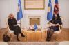Presidentja Osmani priti në takim ambasadoren kroate në Kosovë, znj. Danijela Barišić