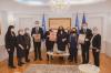 Komunikatë e përbashkët e Presidentes, Kryetarit të Kuvendit dhe e Kryeministrit të Kosovës 1