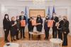 Komunikatë e përbashkët e Presidentes, Kryetarit të Kuvendit dhe e Kryeministrit të Kosovës 13