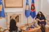 Presidentja Osmani priti në takim ambasadoren e Suedisë, Karin Hernmarck 3