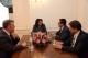 President Jahjaga received Ambassador Lulzim Peci